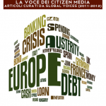 cover of EU in crisis in Italian
